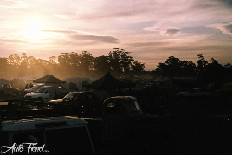 dawn on camp